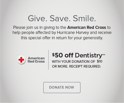 Gateway Smiles Dentistry and Orthodontics - Donate Red Cross® Hurricane Harvey